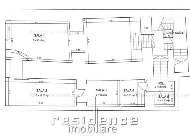 Spatiu comercial, 220mp, ultracentral, zona Piata Unirii - imaginea 1