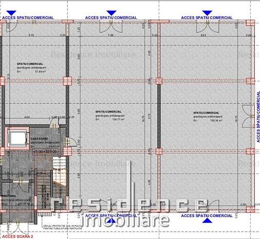 Spatiu comercial 140mp, Imobil NOU, Marasti zona Leroy Merlin - imaginea 1