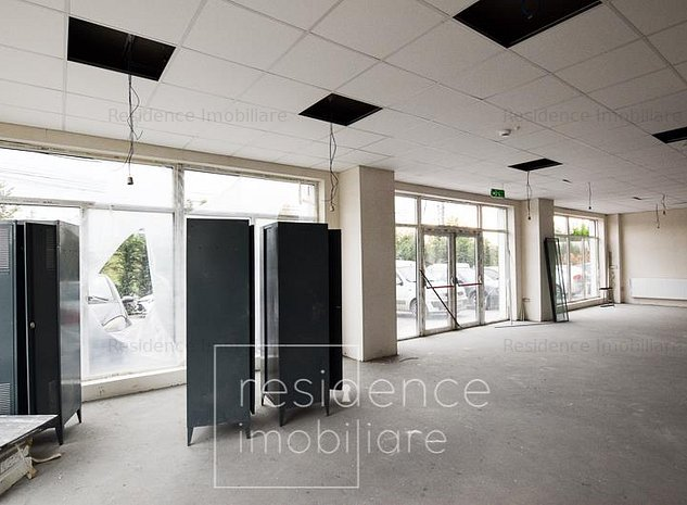 Spatiu comercial 700 mp, open space, Imobil Nou, Marasti, Piata 1 Mai - imaginea 1