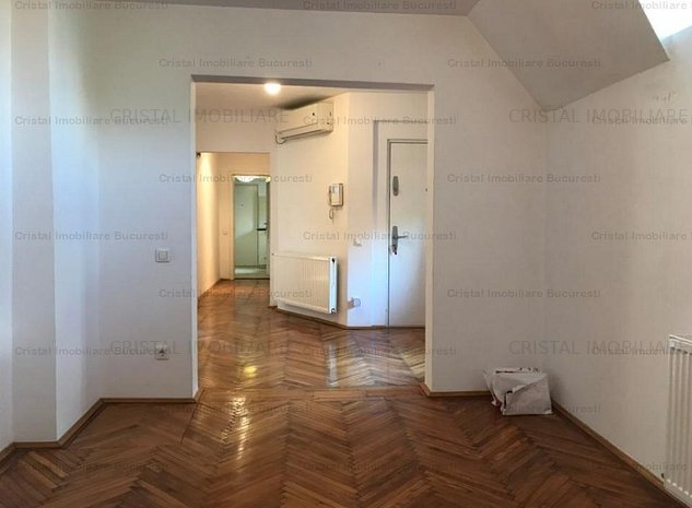 Dorobanti -Roma - apartament 3 camere 90 mp in vila P+2 - imaginea 1