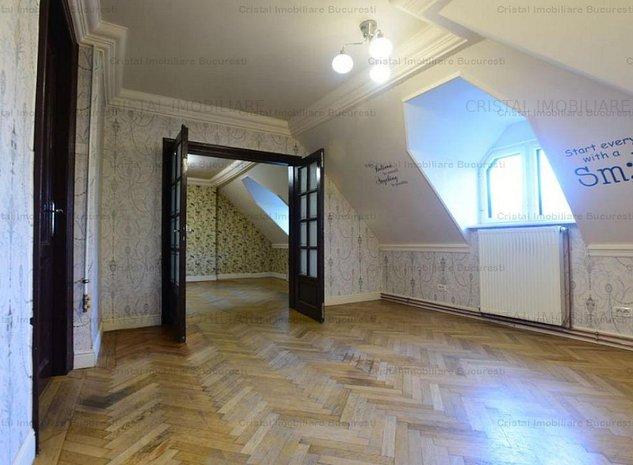 Dorobanti -Roma -apartament 3 camere in vila P+2 - imaginea 1