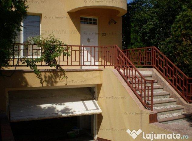 Vila generoasa cu multiple functionalitati in Zona Domenii - Sect. 1 Bucuresti - imaginea 1