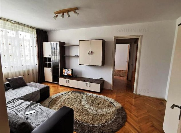 Inchiriem Apartament 2 Camere, Mobilat, Semidecomandat, Centru Civic - imaginea 1