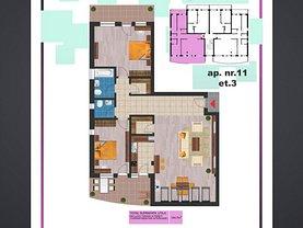 Apartament de vânzare 3 camere în Arad, Parneava