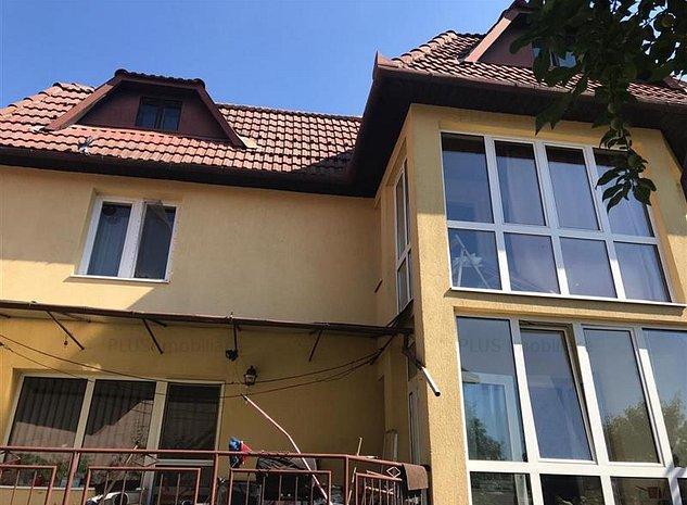 Casa 220 mp, teren 500, Piata Fraternitatii Gh. Ideala sediu firma - imaginea 1