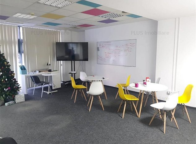 Spatiu comercial/birouri 293 mp, in Plopilor vest, finisat - firma IT - imaginea 1