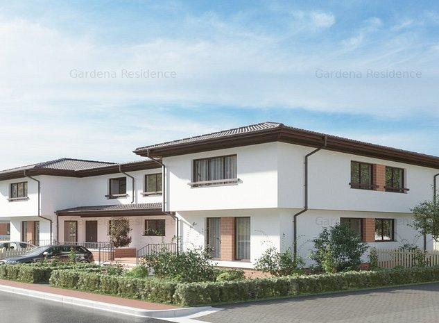 Duplex 4 camere in Gardena Residence conectat la toate utilitatile - imaginea 1
