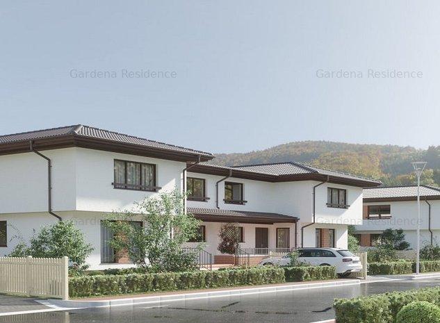 Casa cu 4 camere in Gardena Residence racordata la toate utilitatile - imaginea 1