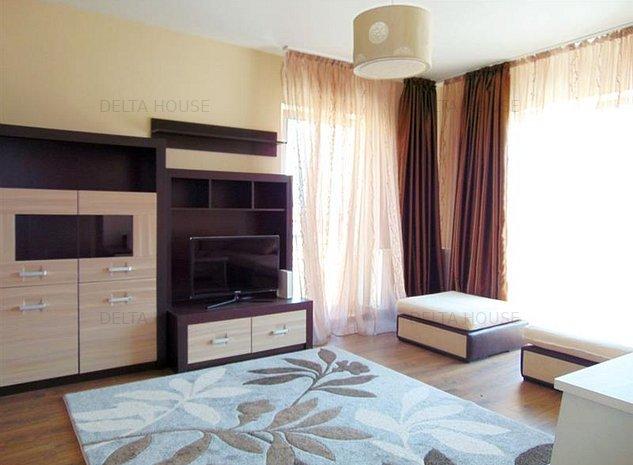 Apartament 2 camere Buna Ziua, 64 mp. decomandat, mobilat, utilat, garaj inclus - imaginea 1