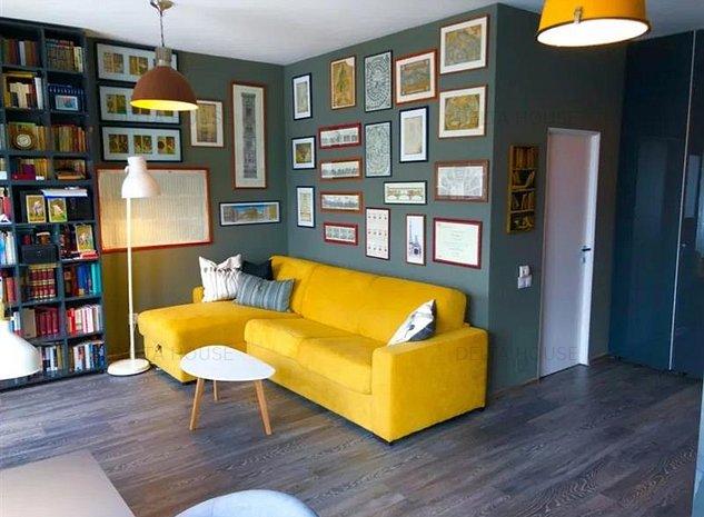 Apartament 2 camere Grigorescu, ultrafinisat, mobilat lux, imobil nou! - imaginea 1