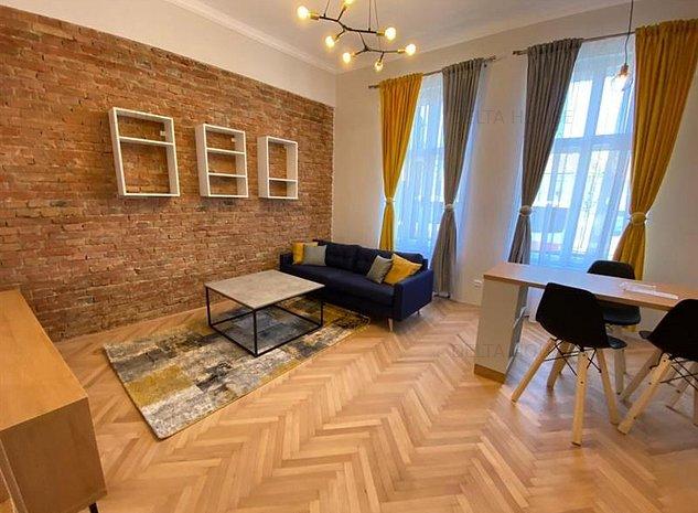 Apartament de lux 2 camere zona Platinia, mobilat, parcare in curte - imaginea 1