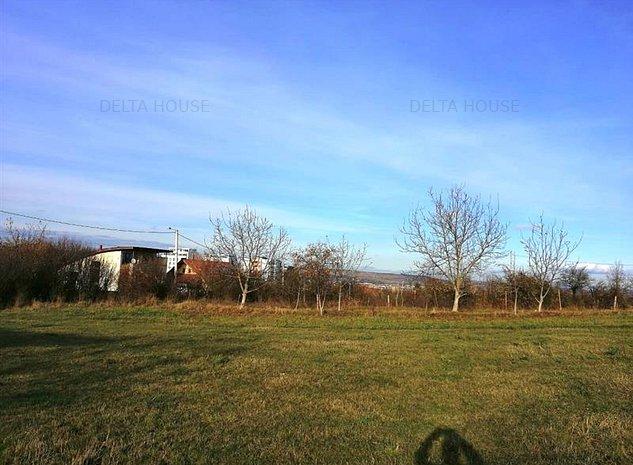 Teren construibil situat in Buna Ziua, 700 mp, front 15, zona linistita - imaginea 1