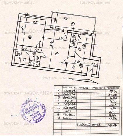 Apartament 2 camere Matei Basarab - Calea Calarasilor - imaginea 1