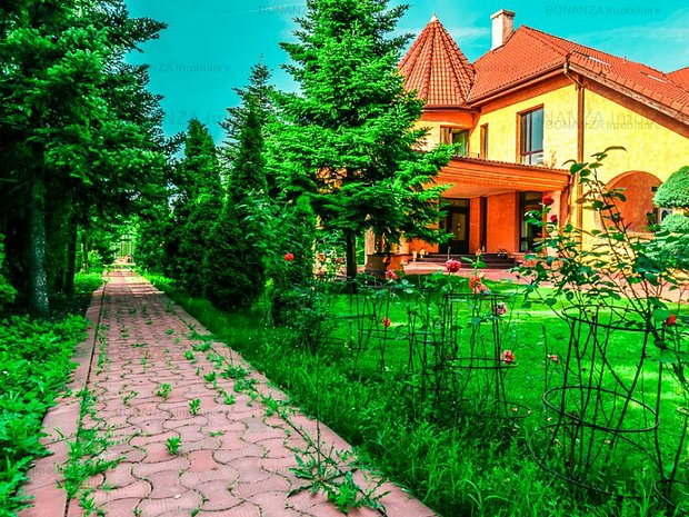 Vila exclusivista Pipera - Iancu Nicolae 800 mp, curte 3000 mp - imaginea 1