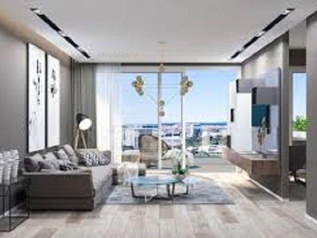 Floreasca, Club Pescariu, Apartament de lux cu 2 camere - imaginea 1