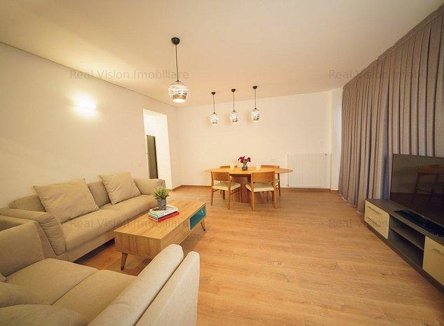 Barbu Vacarescu, Pescariu, Apartament lux cu 3 camere  - imaginea 1
