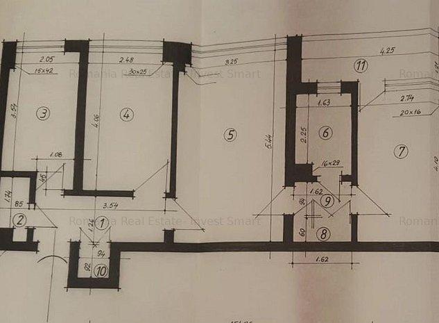 Apartament 3 camere, Obor-Avrig, 62 mp, ideal investitie - imaginea 1