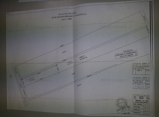 Timisoara - C.Aradului - Teren arabil in intravilan - 3,5 ha    - imaginea 1