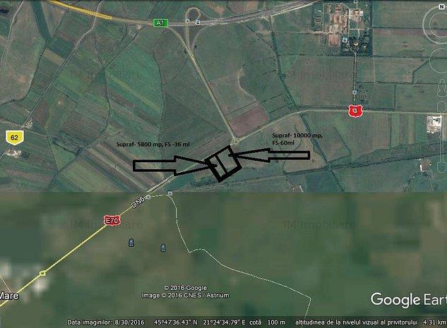 Remetea Mare, teren constructie hala - imaginea 1