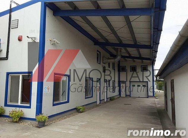 Sacalaz -Hala productie/depozitare-700 mp - imaginea 1