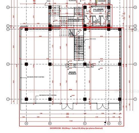 Fabric - Showroom + Spatiu birouri(optional) - Clasa A - Reclama luminoasa - imaginea 1
