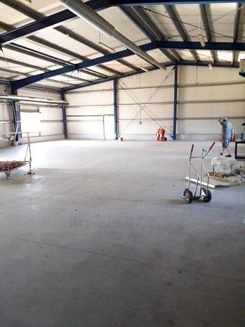 Sacalaz -Hala productie/depozitare + casa de locuit(optional) -700 mp - imaginea 1
