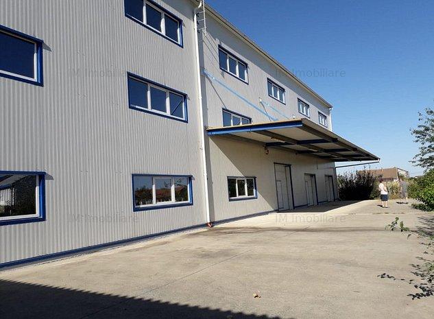 Sacalaz - Hala productie / Depozitare -3 nivele - 1400 mp - imaginea 1