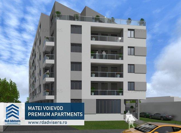 Apartament 3 camere Lux - Central - 700 m Metrou - Dezvoltator - imaginea 1