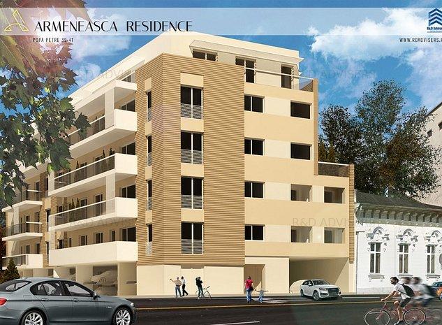 Apartament 2 camere - Dezvoltator - Armeneasca/Dacia/Eminescu Comision 0 - imaginea 1