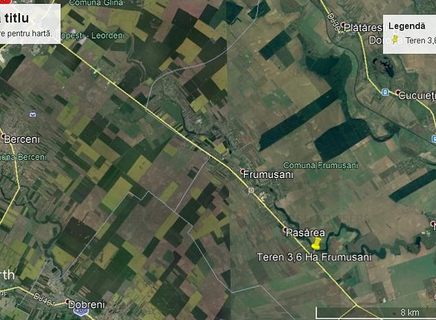 Teren Industrial sau Comercial - Frumusani DN4 Front Stradal 100M - imaginea 1