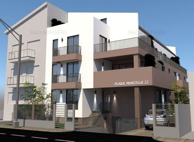 Apartament  2 CAMERE 77 MP   6 MINUTE METROU BAZILESCU/JIULUI   PARC BAZILESCU - imaginea 1