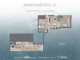 Penthouse de vânzare 5 camere, în Sibiu, zona Ţiglari