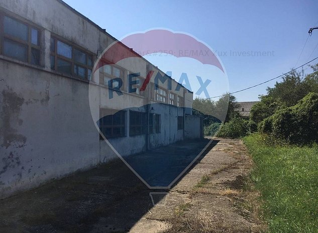 Hala Industriala, cladire de birouri si teren in Com.Loamnes/Jud Sibiu - imaginea 1