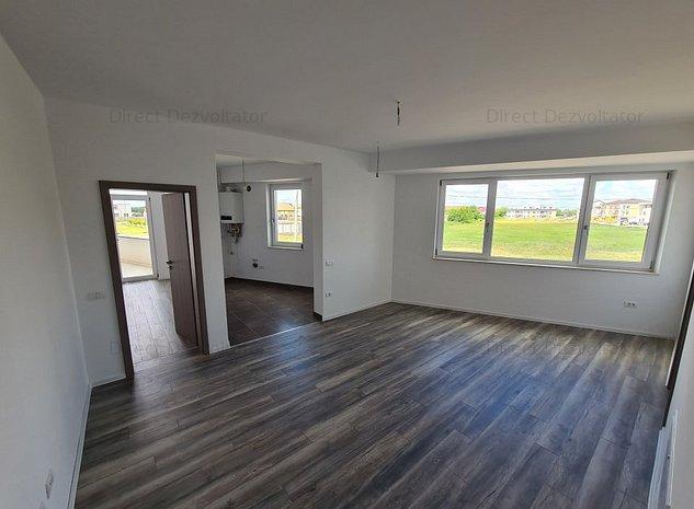 Dezvoltator vand 3 camere in bloc nou finalizat zona Aradului - imaginea 1