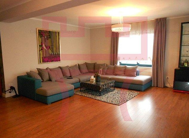 Inchiriere apartament finisat lux, 3 camere, dressing, Zorilor, garaj - imaginea 1