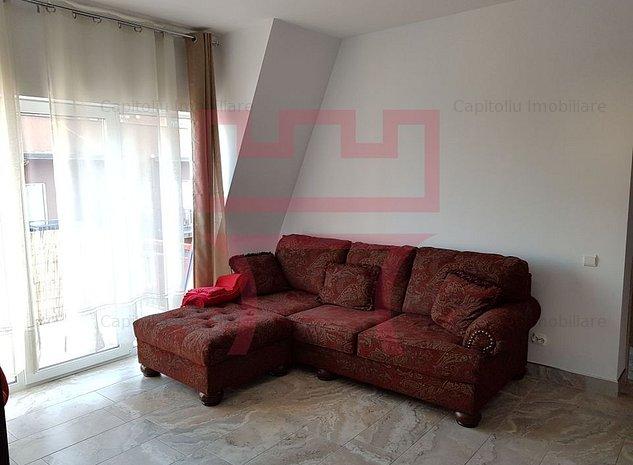 Inchiriere apartament 2 camere Central zona Mihai Viteazu NTT Data - imaginea 1
