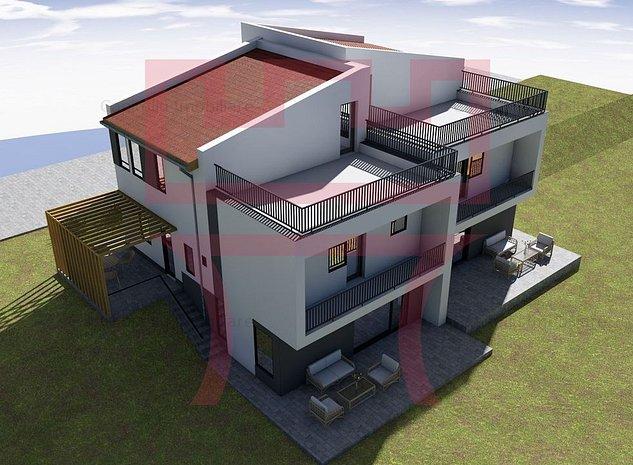 Duplex finisat,  predare la cheie, 4/5 camere terasa cu panorama 30mp - imaginea 1