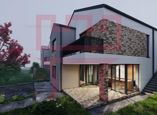 COMISION 0 Vanzare casa deosebita la asfalt panorama teren liber 400mp - imaginea 1