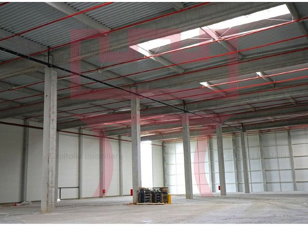 Module de hala noi, cu rampa, platforma betonata, spatii birouri - imaginea 1