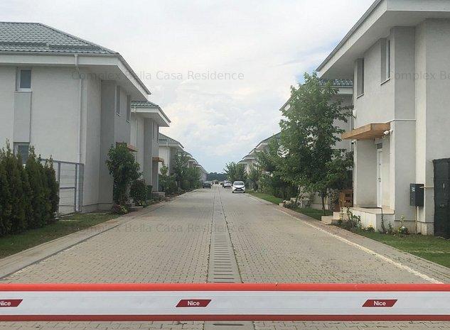 Vile individuale in complex rezidential zona Sabareni Buftea, asfalt+utilitati - imaginea 1