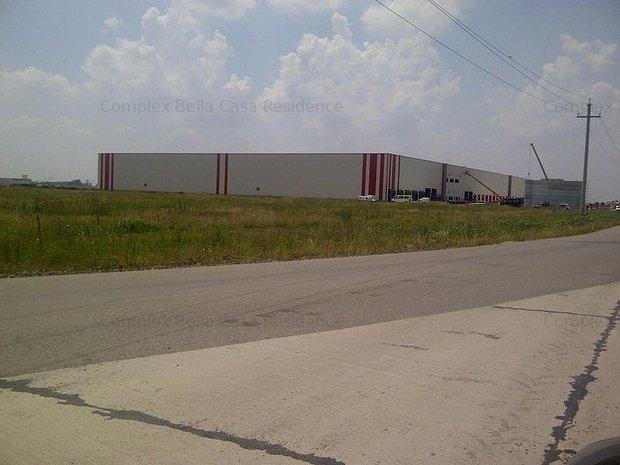Teren hala depozitare zona industriala A1 Bolintin Deal - imaginea 1