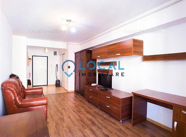 1 camera + nisa dormit,Garaj, 42 mp, bloc nou, Marasti, FSEGA - imaginea 1