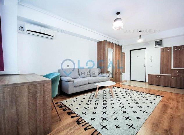 Ap. 1 camera si nisa de dormit modern, parcare subterana, Marasti - imaginea 1