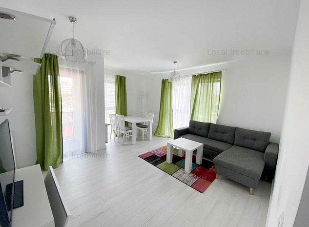 Apartament 2 camere, Semidecomandat, Parcare, Modern, Gheorgheni - imaginea 1