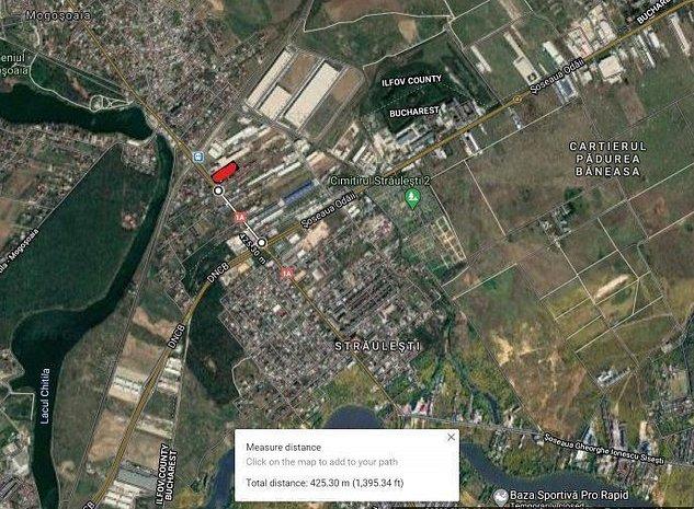 logistica Mogosoaia teren investitie - imaginea 1