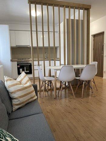 Apartament nou mobilat, 2 cam,terasa, complex Diamond Apartments - imaginea 1