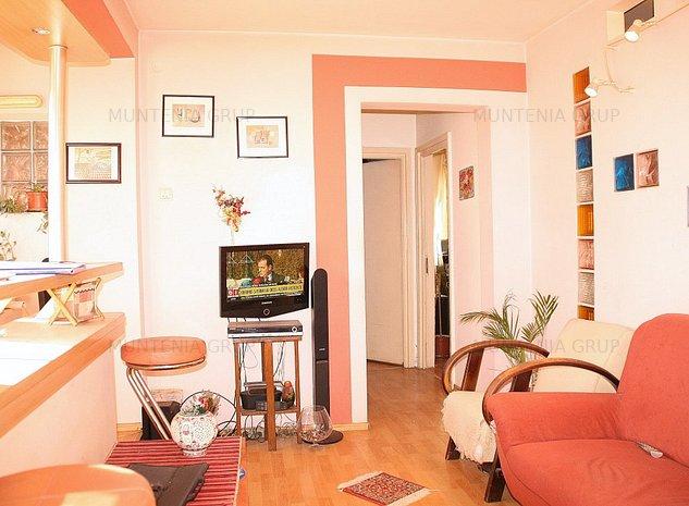 GRIVITEI, langa metrou, apartament 3 camere, etaj 5 in bloc constructie 1968 - imaginea 1