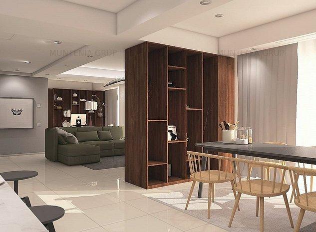 AVIATORILOR, apartament cu finisaje LUX, aflat la prima inchiriere - imaginea 1