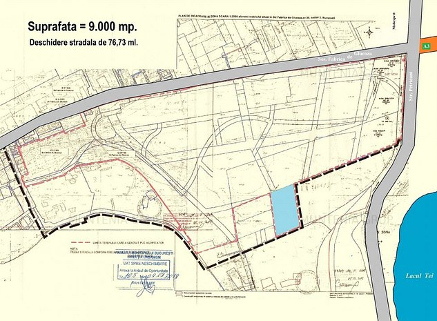 BARBU  VACARESCU - Fabrica de Glucoza, 9.000 mp. teren ideal constructie bloc - imaginea 1