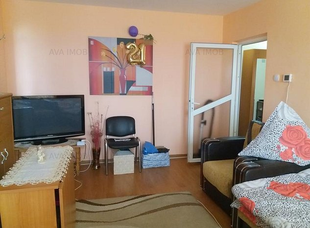 Apartament 2 camere semidecomandate, renovat, zona Alecu Russo Milcov - imaginea 1